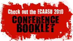 ECAASU 2010 Conference Booklet