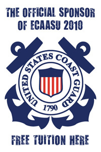 Official Sponsor of ECAASU 2010 : U.S. Coast Guard